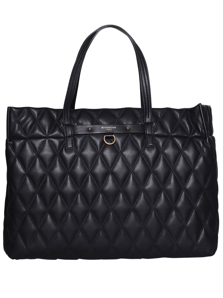 Givenchy Quilted Tote - Black