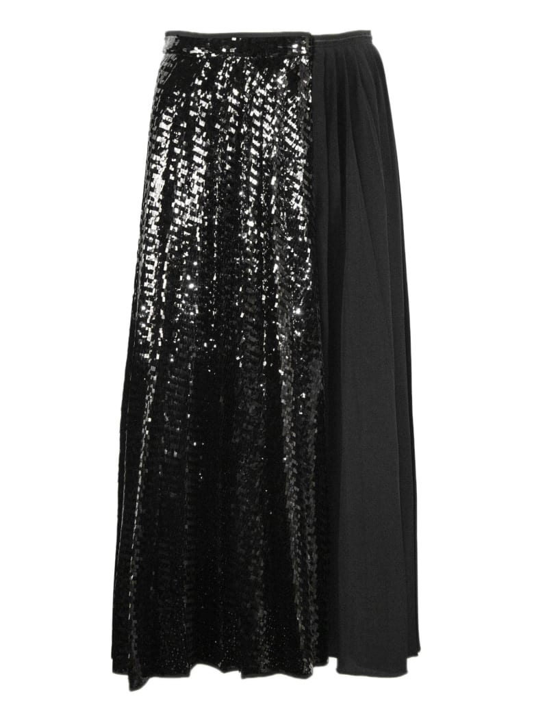 N.21 Black Pleated Skirt - Nero