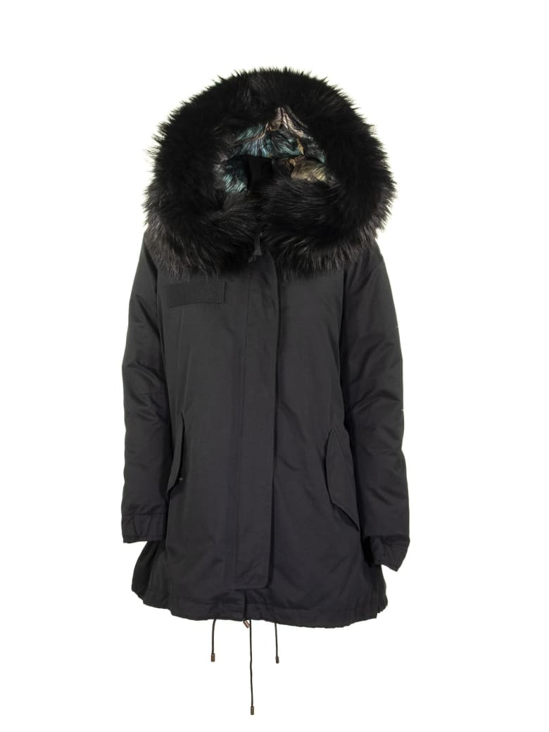 Mr & Mrs Italy Parka Black - Black