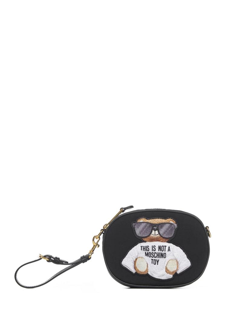 Moschino Teddy Belt Bag - Black