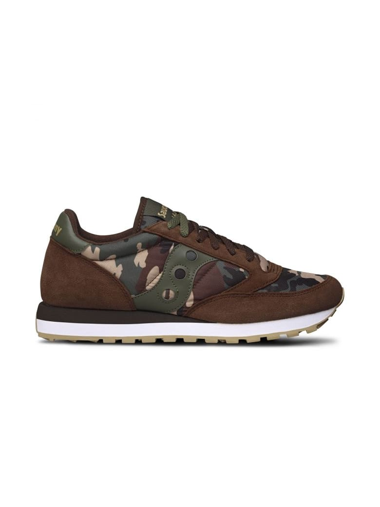 Saucony Saucony Originals Jazz O' Camo Brown/camouflage Green - Brown/thyme