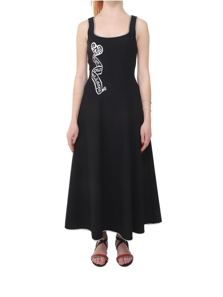 Alaia Azzedine Alaia Black Mon Coeur Dress - Nero/bianco