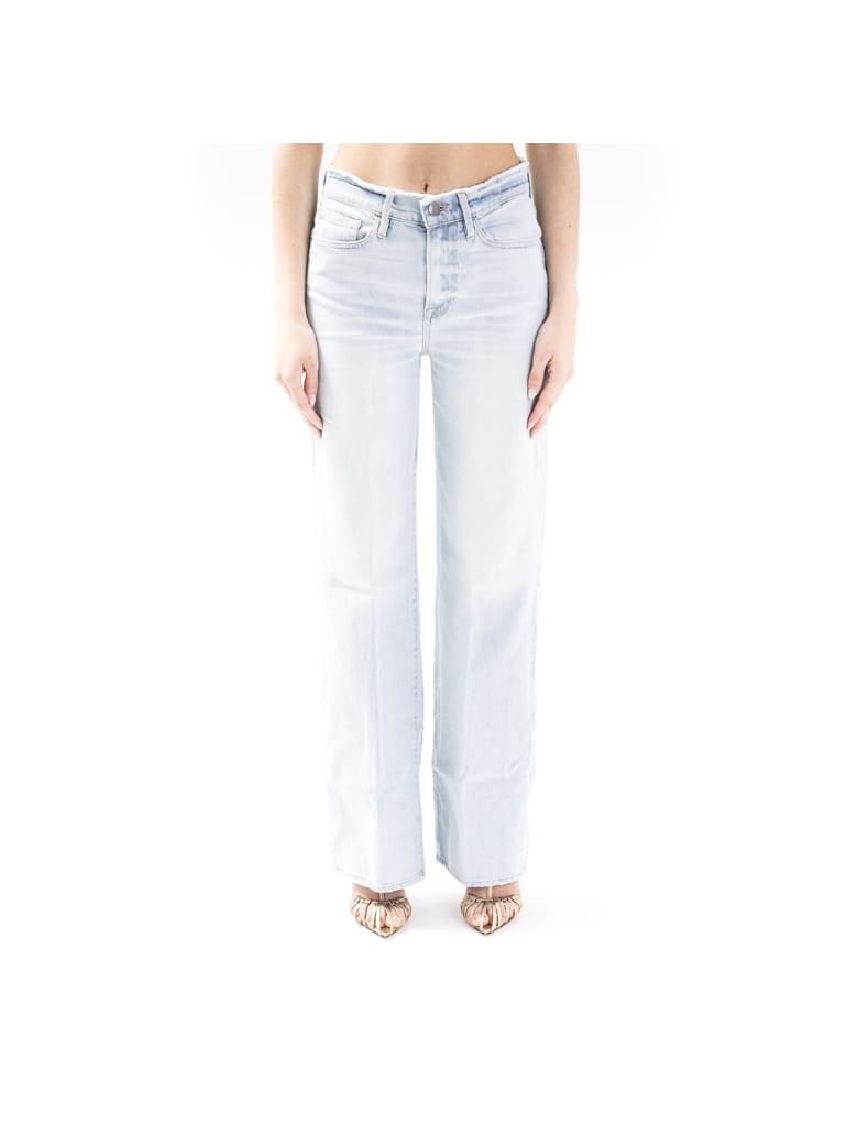 Frame Blend Cotton Jeans - DENIM