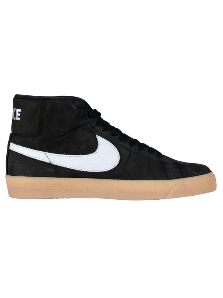 Nike Sb Zoom Blaszer Mid Iso - Black/white- Safety Orange- Cd2569-018 - Nera