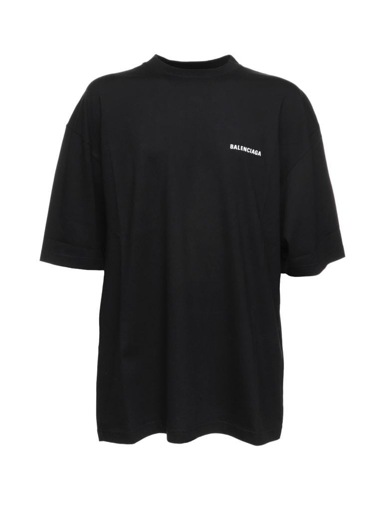 Balenciaga Balenciaga Dèfilè Oversize T-shirt - BLACK WHITE