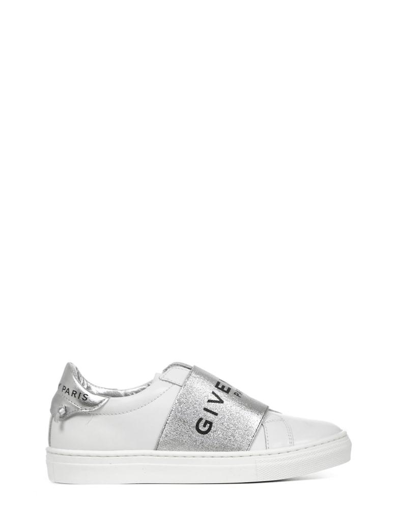 Givenchy Kids Urban Street Sneakers - Grigio/bianco
