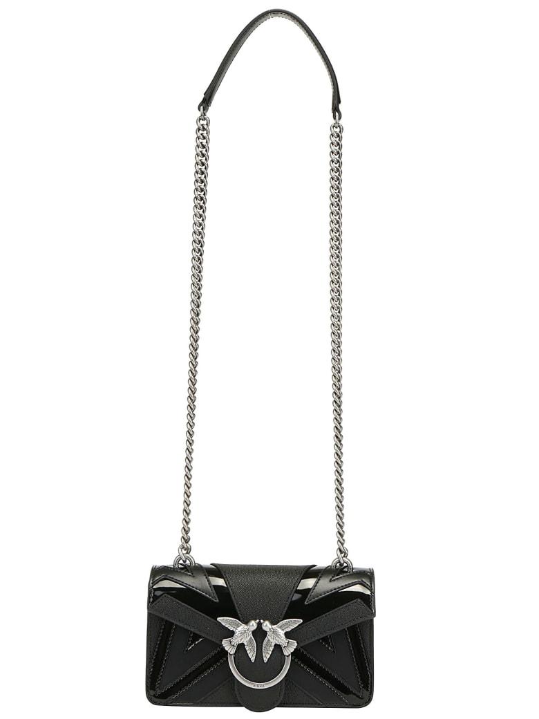 d64c6f5ae7 Pinko Mini Love Chevron Shoulder Bag