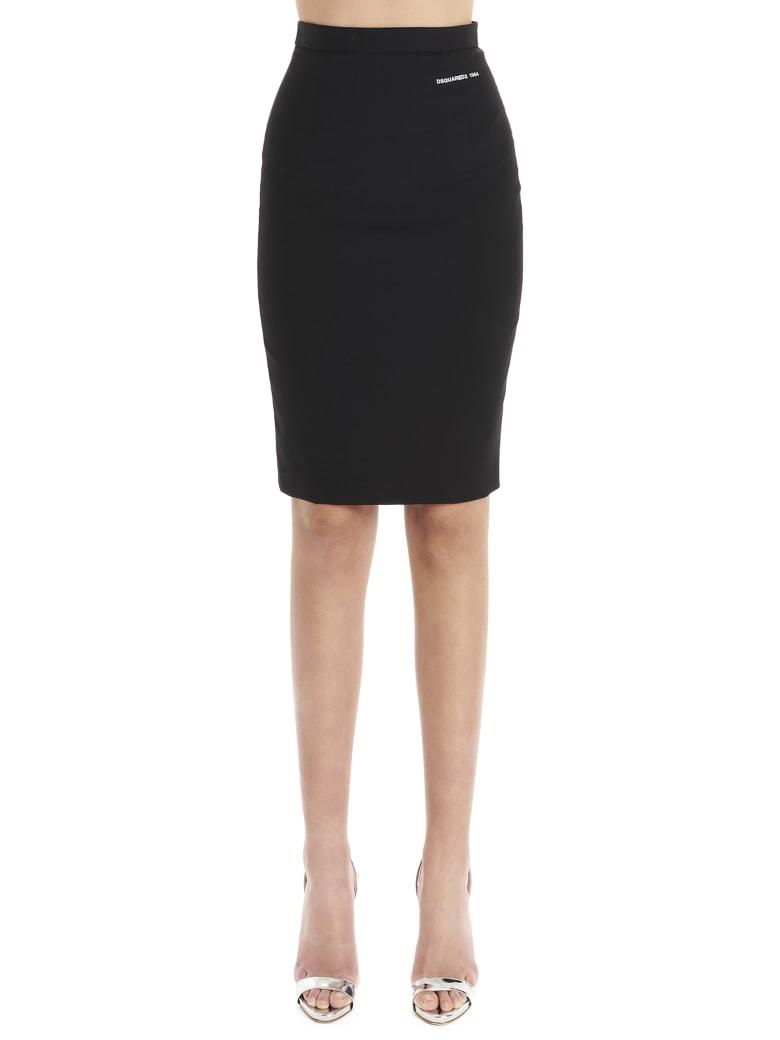 Dsquared2 'arwen' Skirt - Black