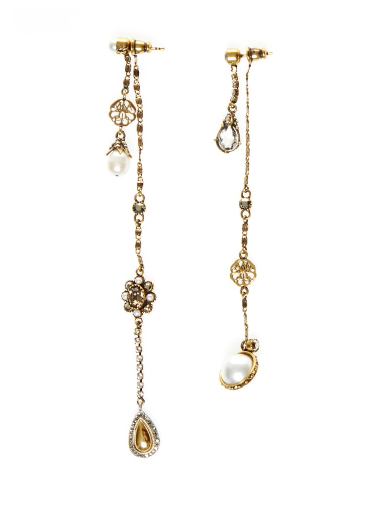 Alexander McQueen Earrings - Gold