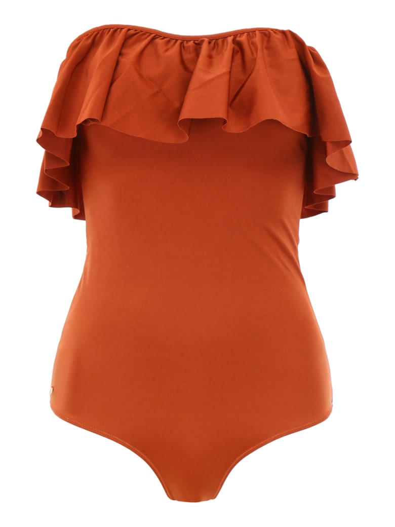 LOVE Stories Rosa Swimsuit - RUST (Brown)