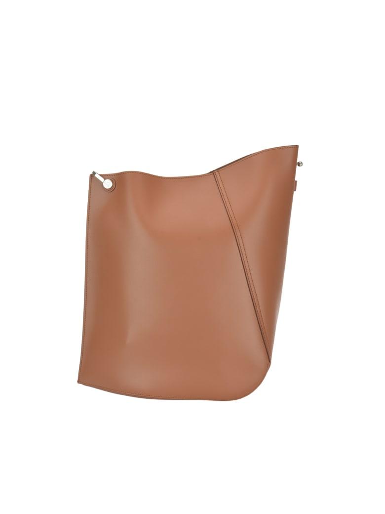Lanvin Hook Bag - Caramel