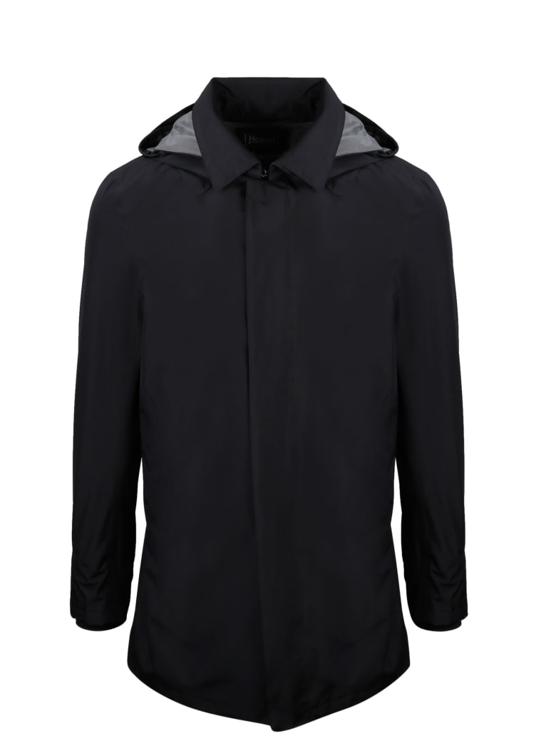 Herno Waterproof Jacket - Black