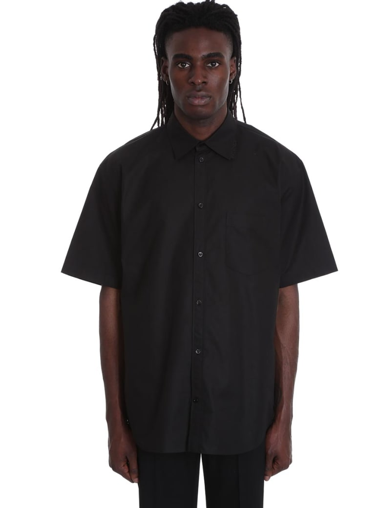 Balenciaga Shirt In Black Cotton - black