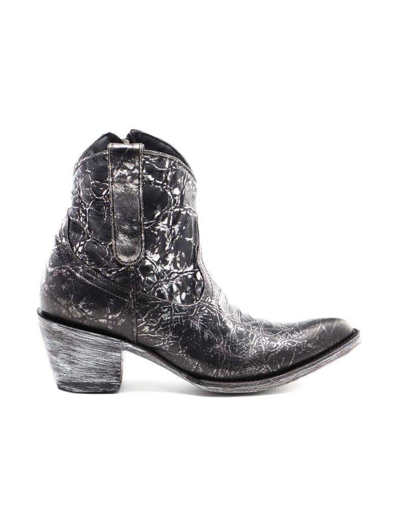 Mexicana Texan Boots - Black