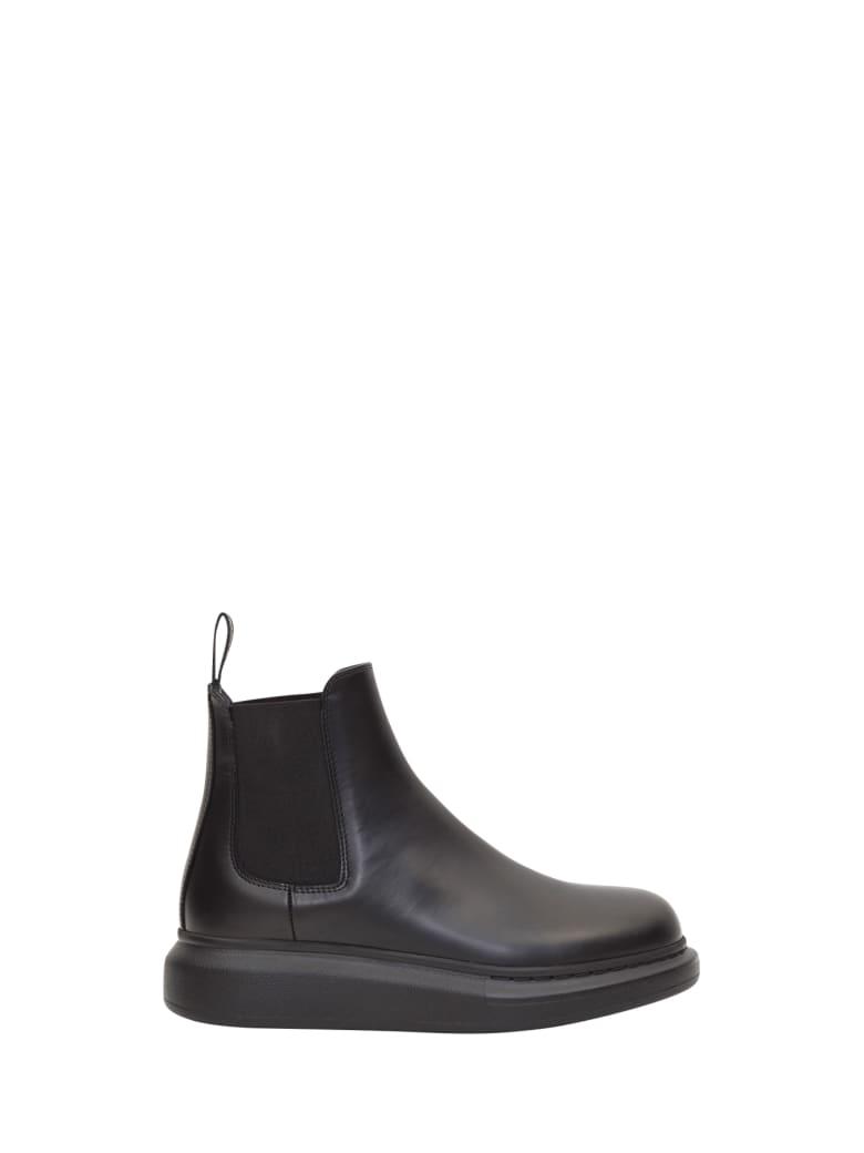 Alexander McQueen Hybrid Chelsea Boots - Nero