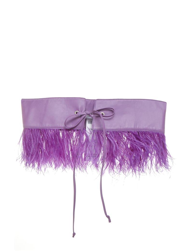 The Attico Belt - Lilac