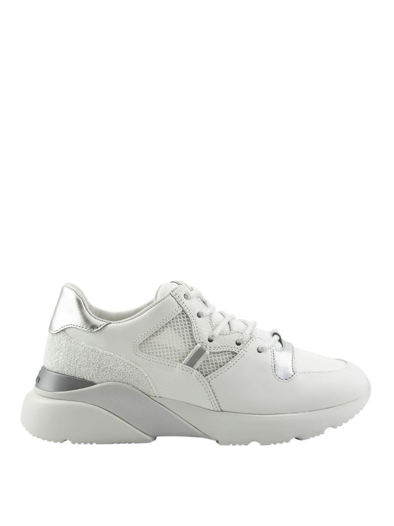 Hogan Sneaker Active One Glitterate Nere Hxw3850bn70kpr0353 - White
