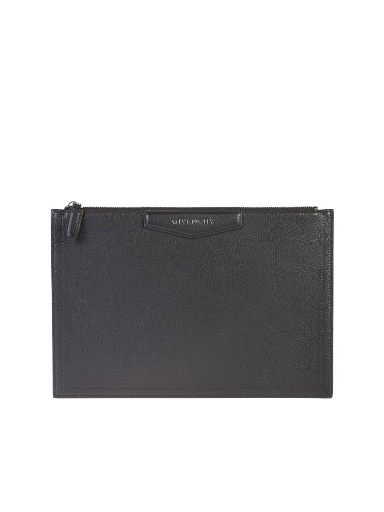 Givenchy Black Medium Antigona Clutch - Black