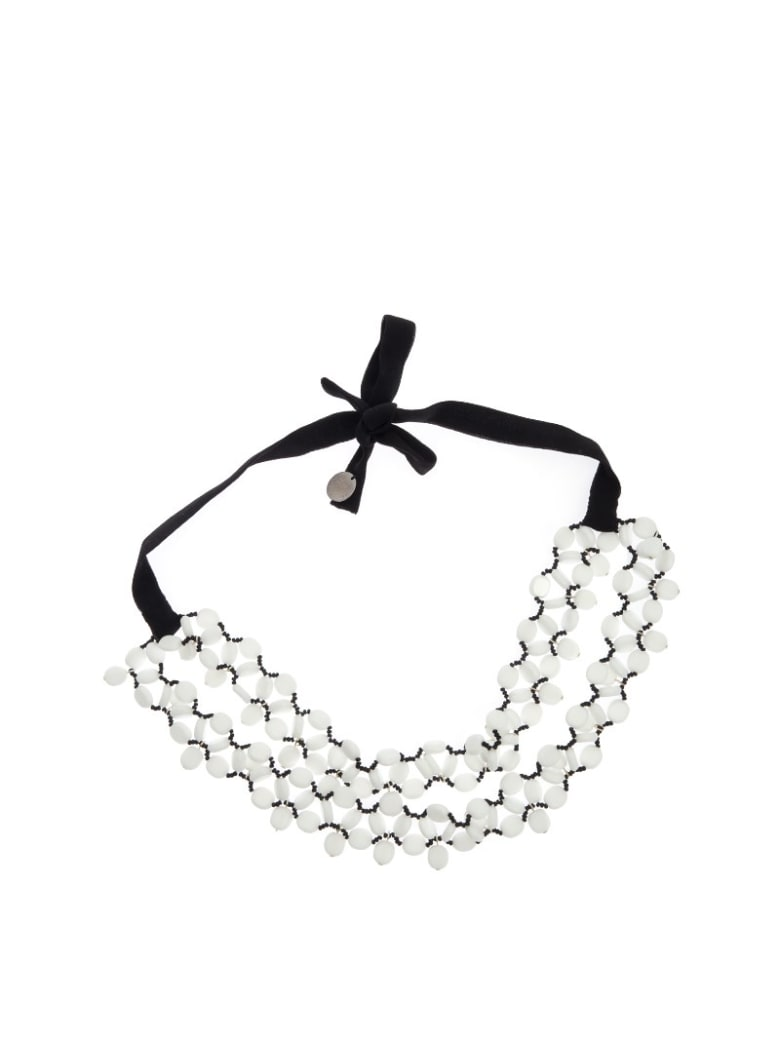 Maria Calderara - Necklace - White