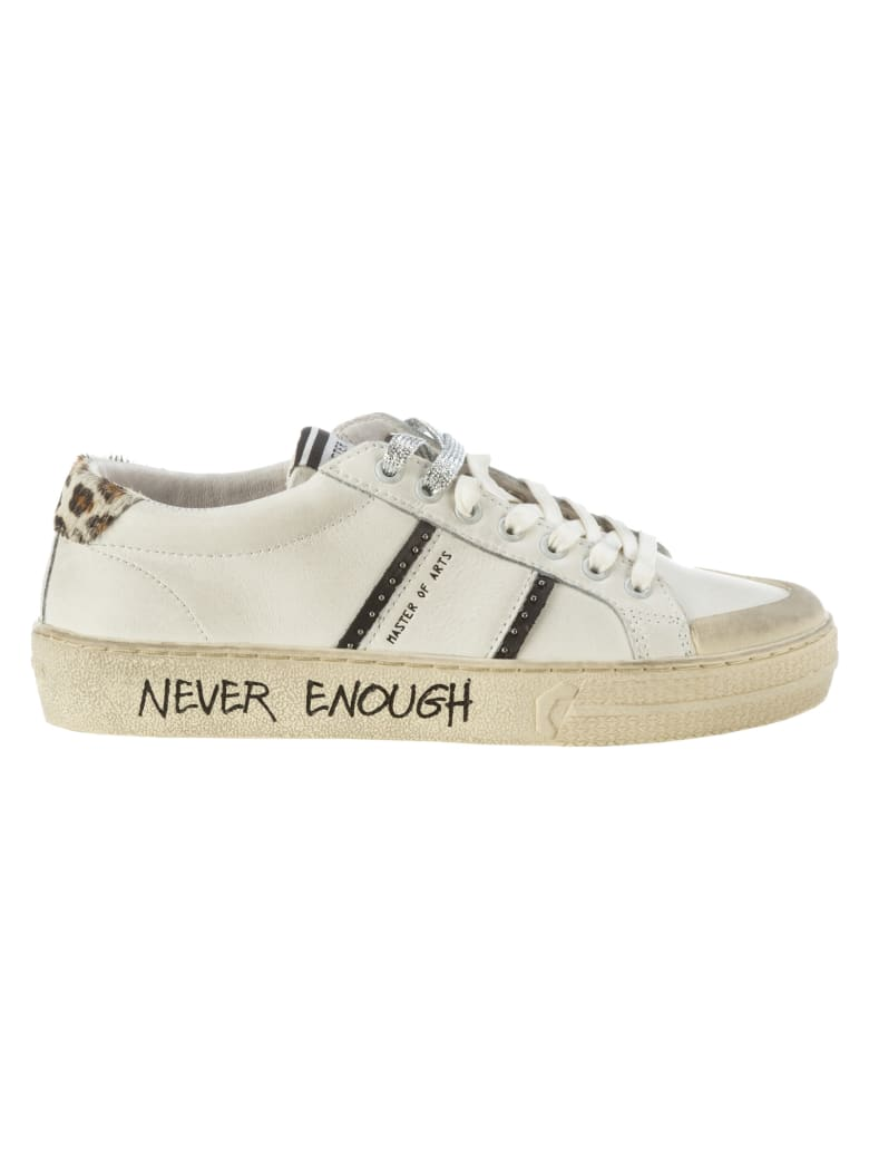 M.O.A. master of arts Moa Playground Sneakers - Bianco