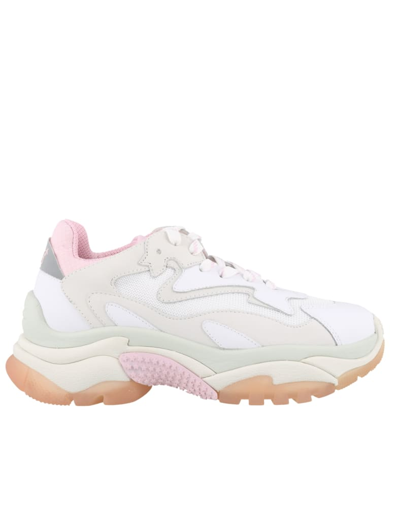 Ash Addict Sneakers - White pink