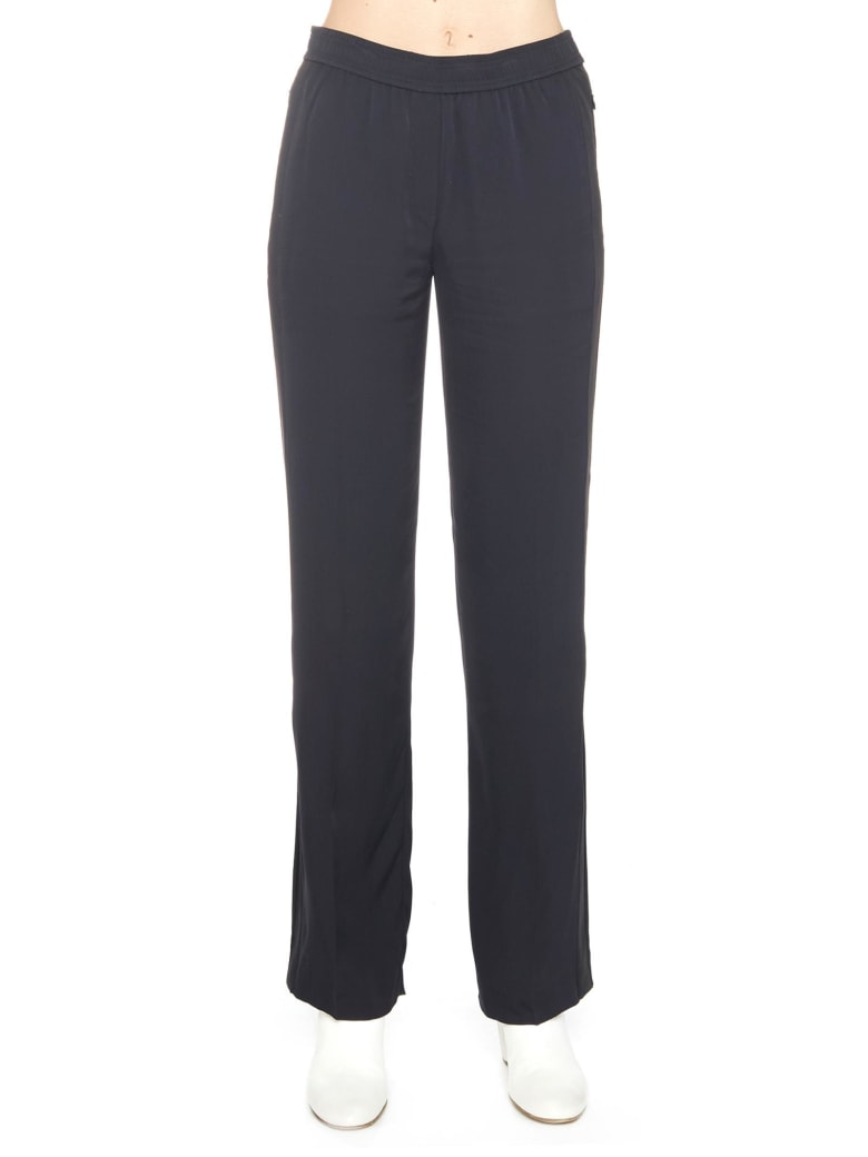 Theory 'pull On Track Pant' Pants - Blue