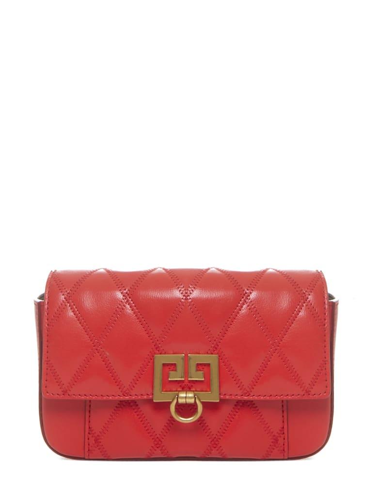 Givenchy Pocket Mini Shoulder Bag - Red