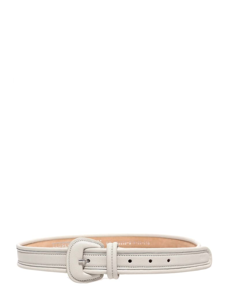 Closed Belt - White