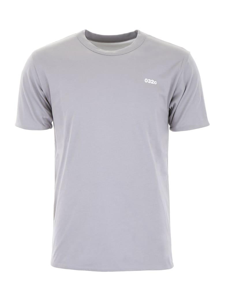 032c Reversible Logo T-shirt - GREY (Grey)