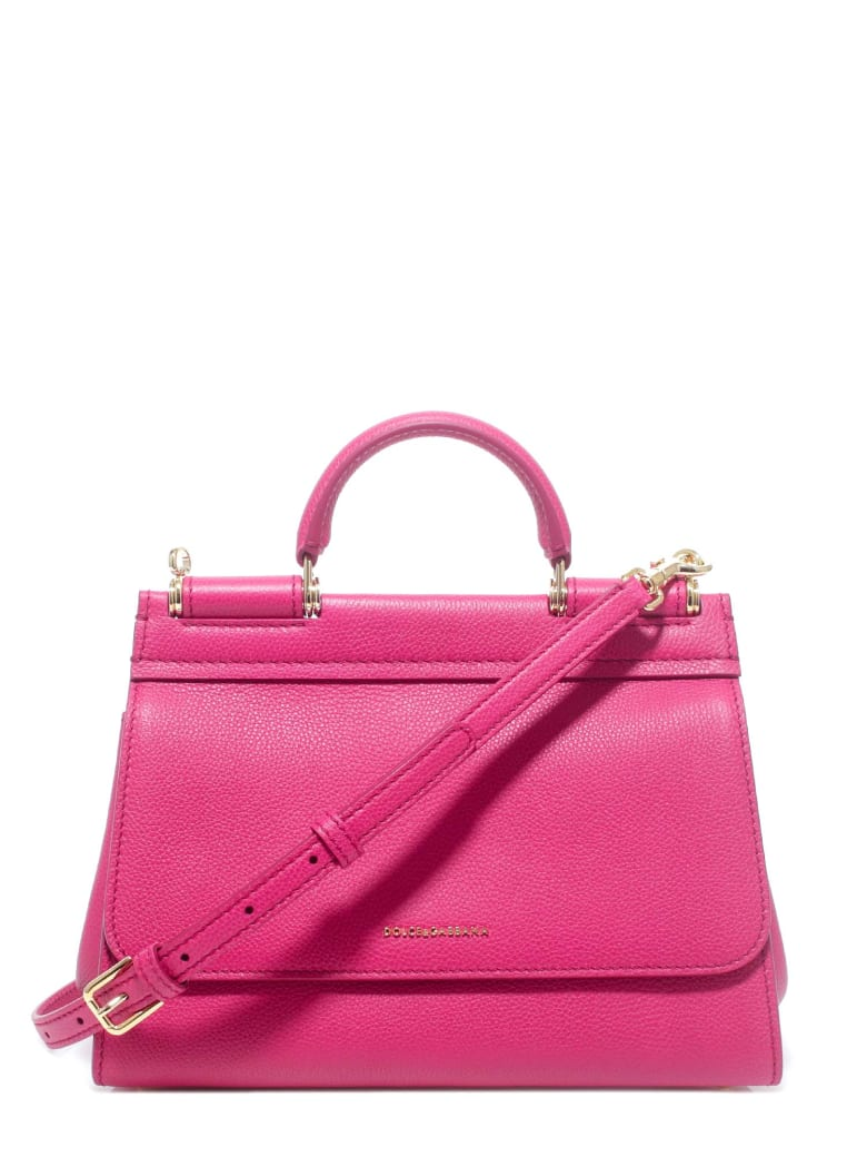 Dolce & Gabbana Sicily Handbag - Pink