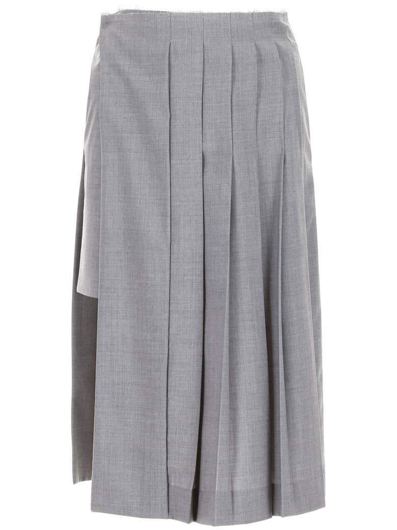 Rokh Kilt Skirt - GREY (Grey)