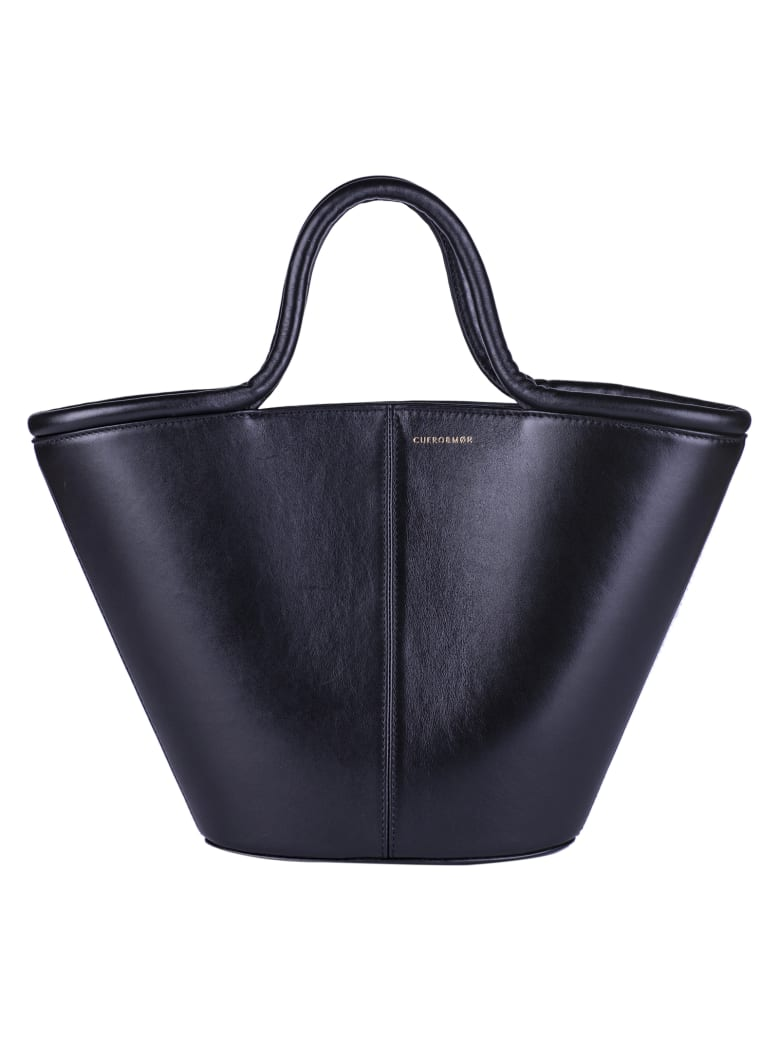 Cuero&Mør Trapeze Shopper Bag - Black