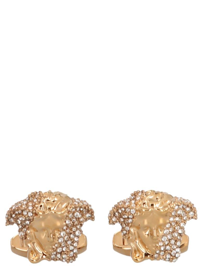 Versace 'medusa' Cufflinks - Gold