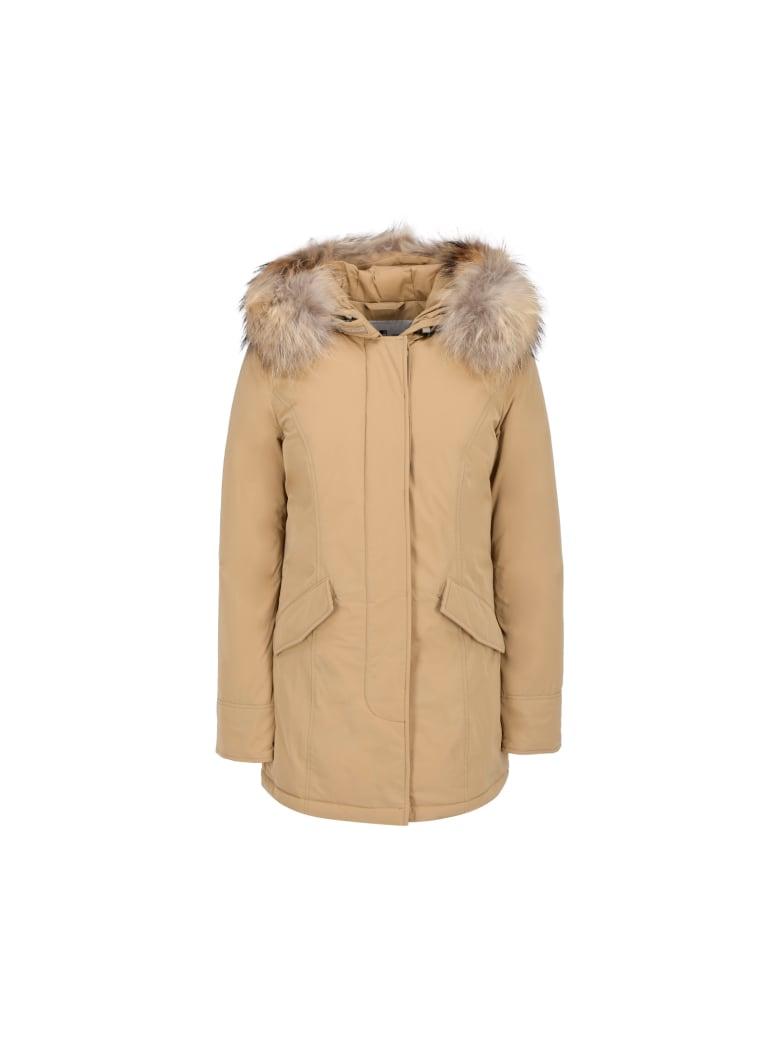 Woolrich Luxury Artic Parka - Beige