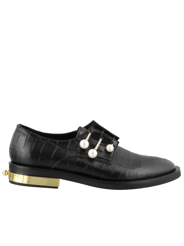 Coliac Fernanda Cocco Laced Up Shoes - Black