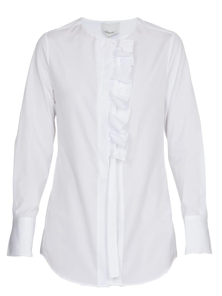 3.1 Phillip Lim Cotton Shirt - OPTIC WHITE
