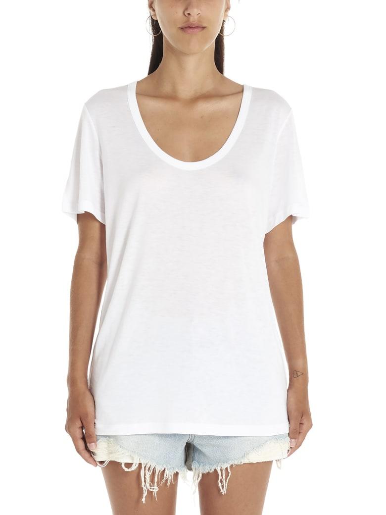 T by Alexander Wang 'jersey' T-shirt - White