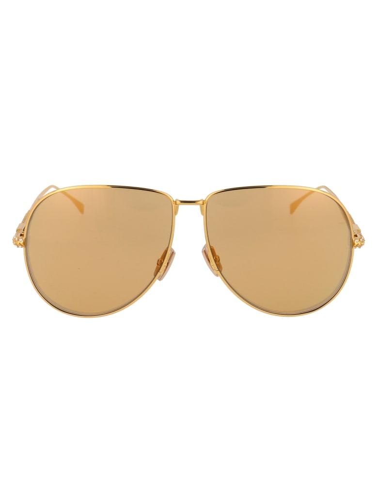 Fendi Ff 0437/s Sunglasses - 0012M YELLOW GOLD