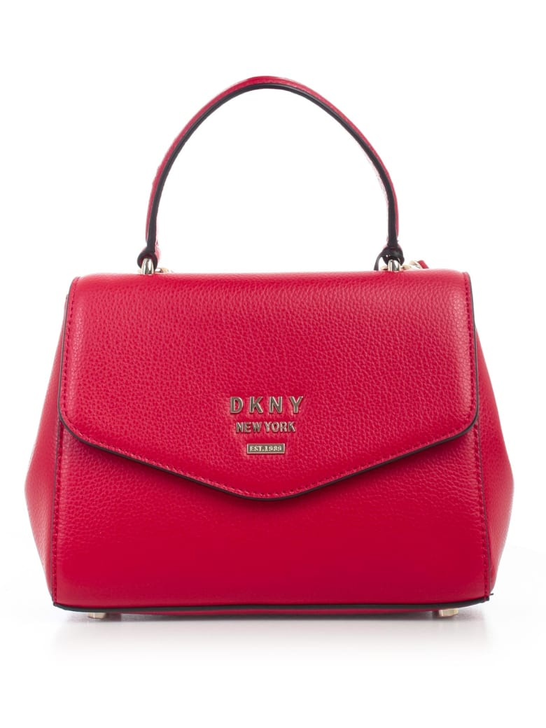 DKNY Whitney Sm Th Satche - Rge Rouge