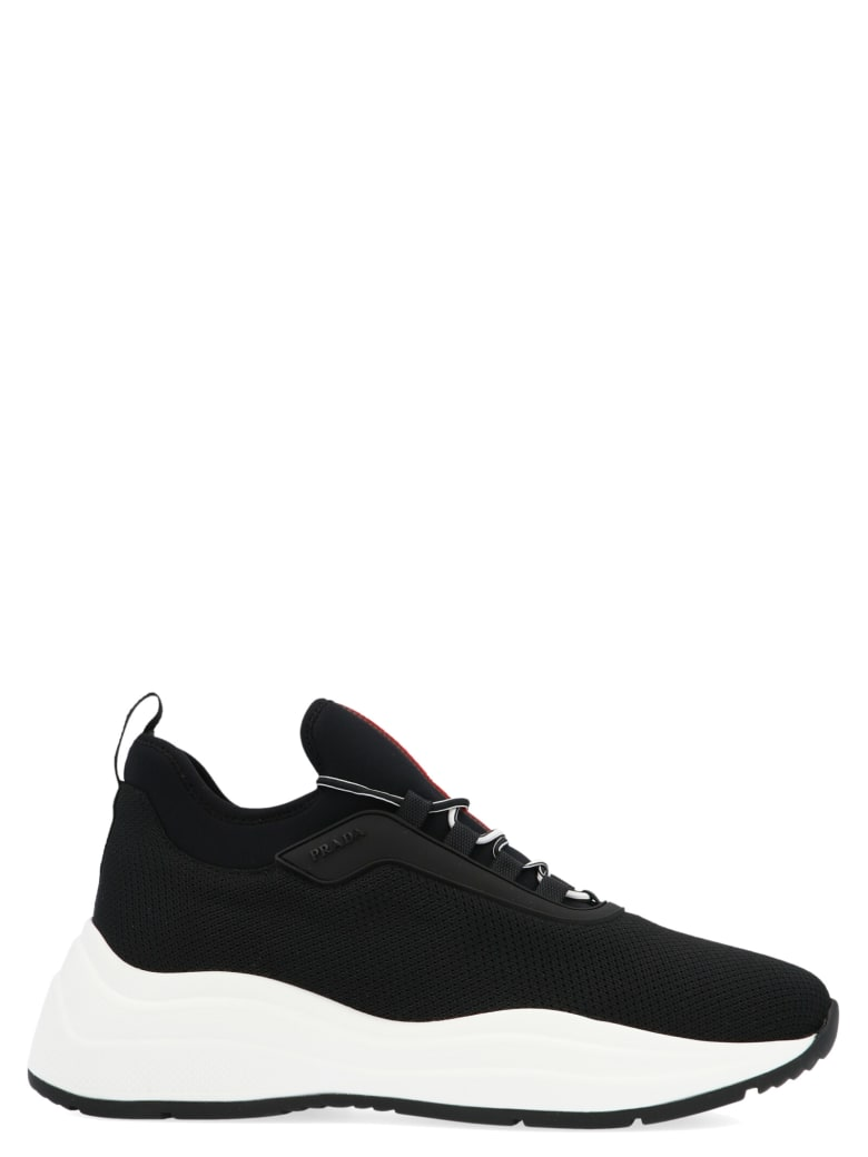 Prada Linea Rossa 'barca Xl' Shoes - Black