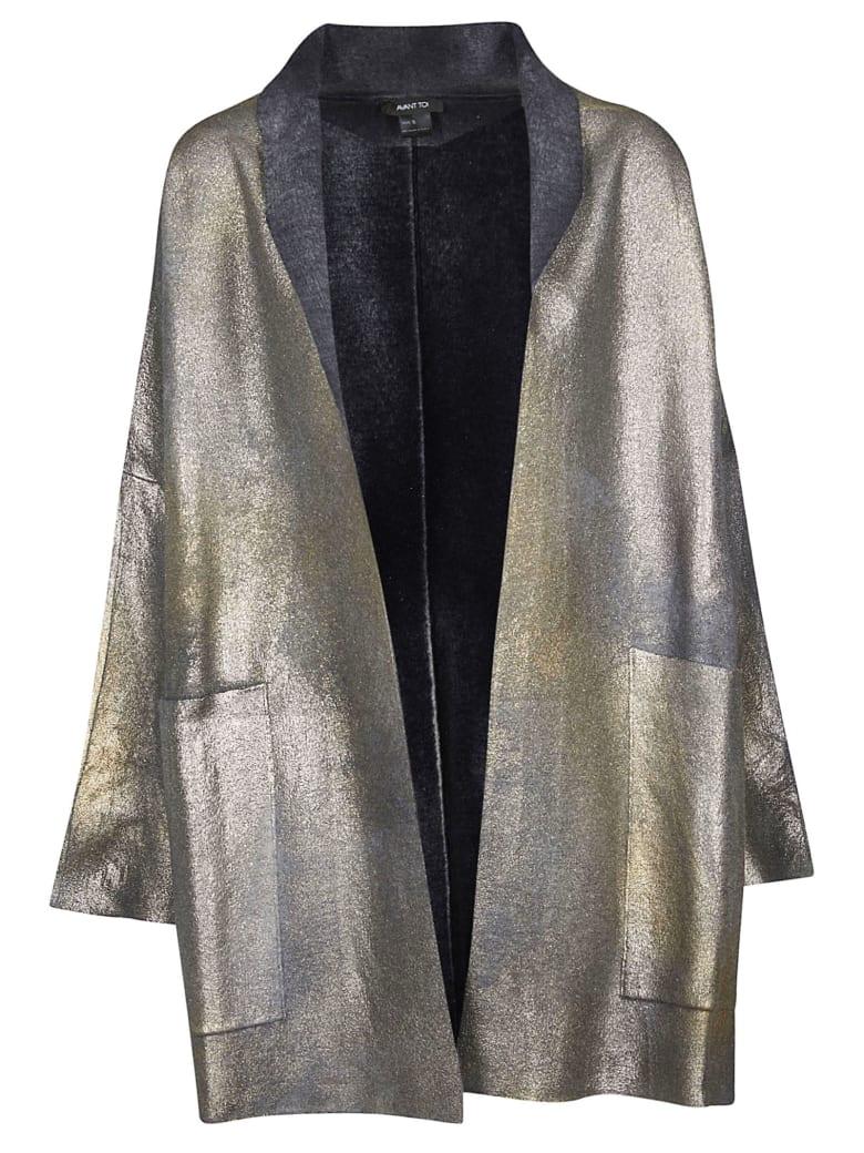 Avant Toi Textured Coat - Black