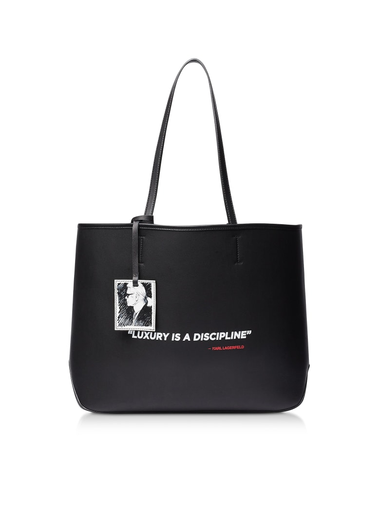 Karl Lagerfeld Karl Legend Tote - Black