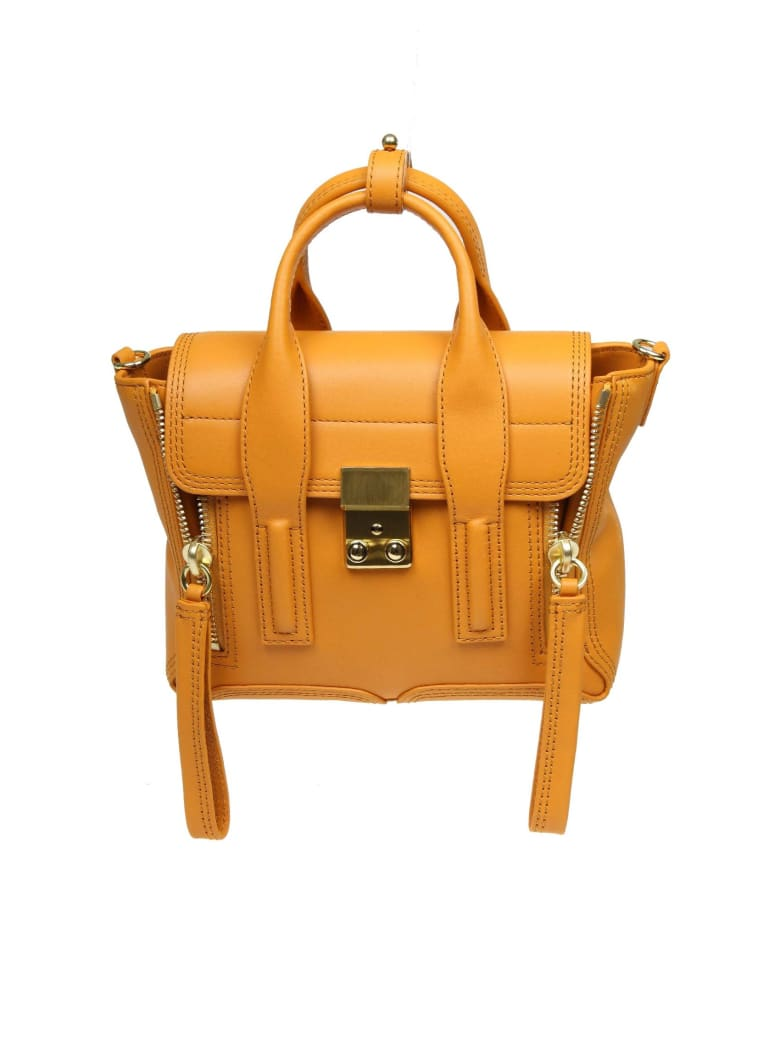 3.1 Phillip Lim Phillip Lim Pashli Mini Handbag In Yellow Zafferano Leather