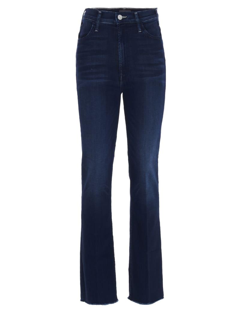 Mother 'the Hustler Ankle Fray' Jeans - Blue