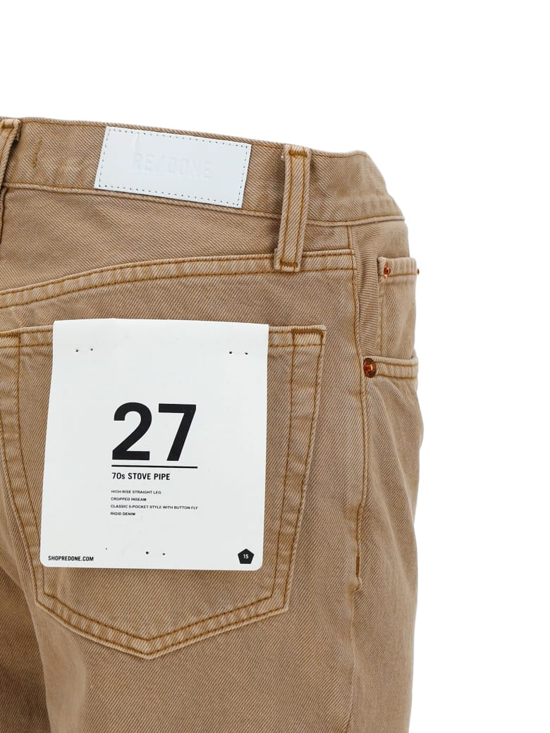 RE/DONE Redone Jeans - Light brown