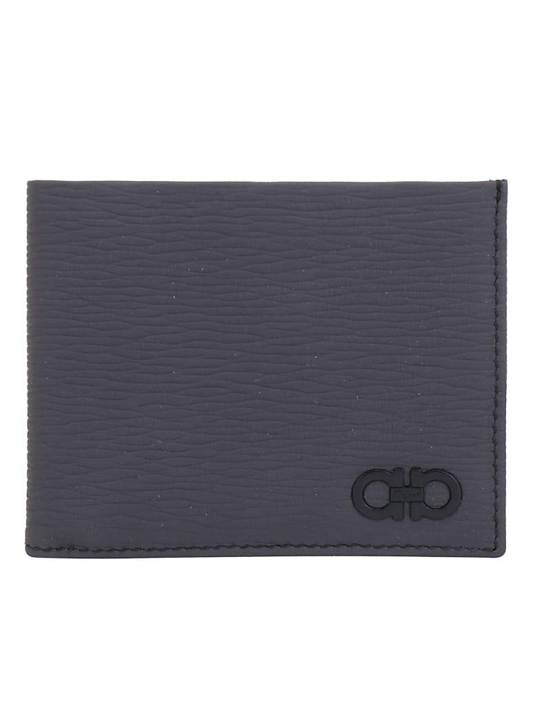 Salvatore Ferragamo Revival Wallet - Lead grey