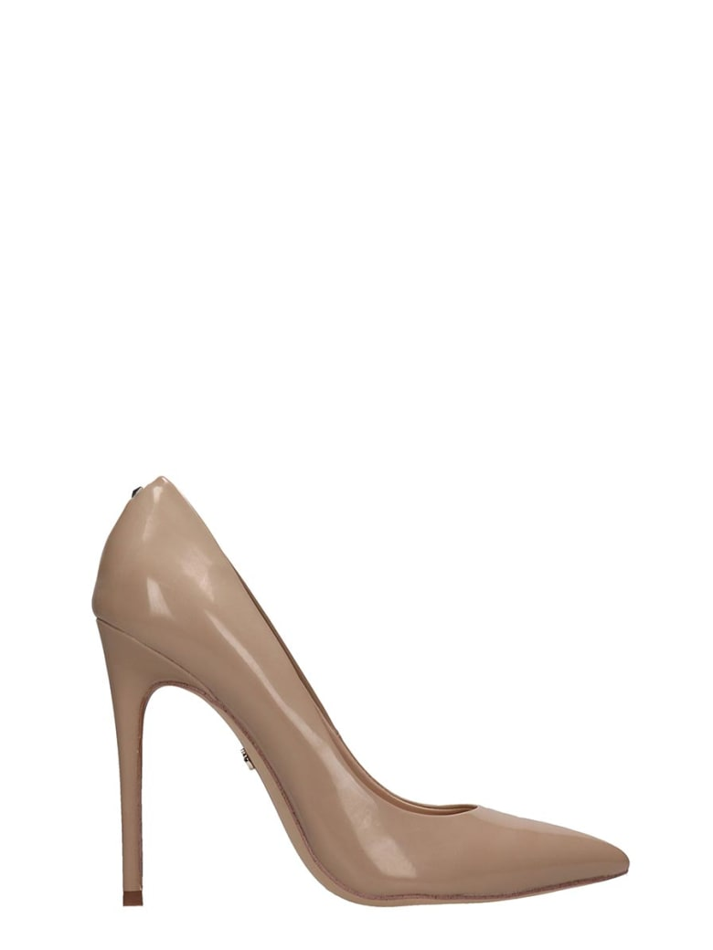 Sam Edelman Nude Patent Leather Pumps
