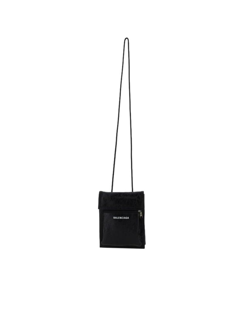 Balenciaga Explorer Pouch Str S - Black