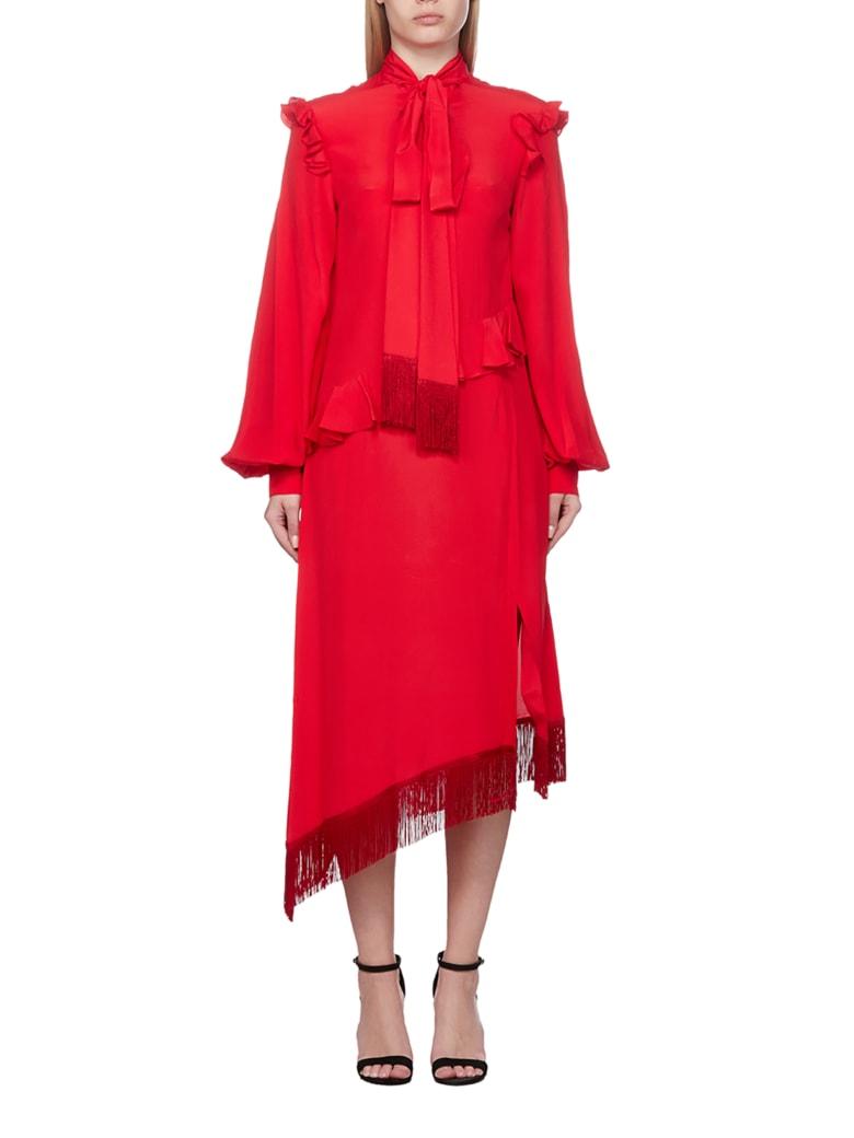 Rokh Dress - Rosso