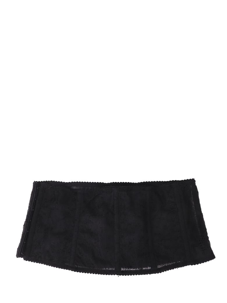 Ianua Black Lace Belt - Black